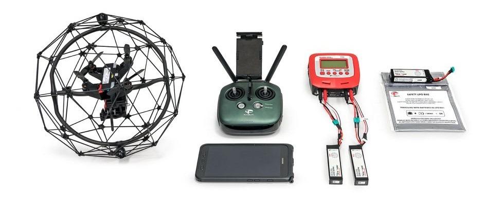 Manejo seguro de baterías LiPo en drones