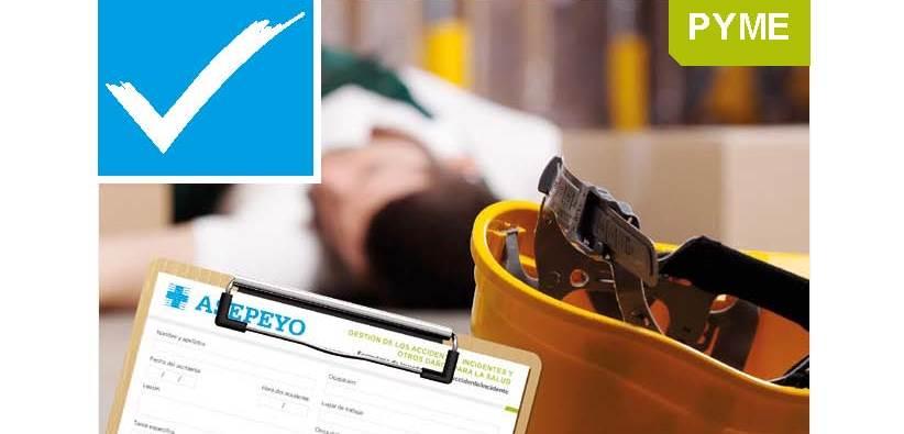Gestión de los accidentes, incidentes y otros daños para la salud. Listas de autoevaluación y formularios