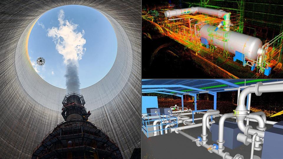 Jornada PRL Inspección industrial con drones y escáner 3D