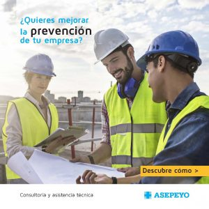 Servicio de consultoría y asistencia técnica que Asepeyo ofrece a las empresas asociadas para mejorar la prevención de riesgos laborales