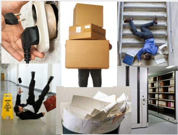 Seguridad y salud en trabajos de oficinas