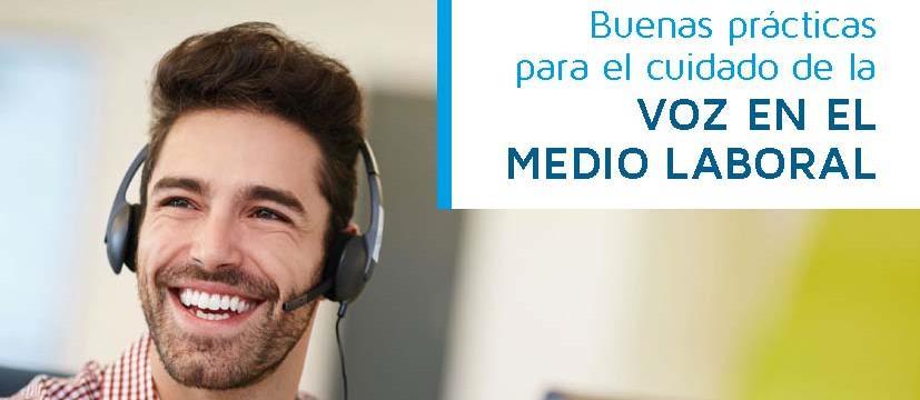 Asepeyo ha publicado el Folleto Buenas prácticas para el cuidado de la voz en el medio laboral