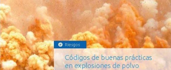 Código de buenas prácticas en explosiones de polvo