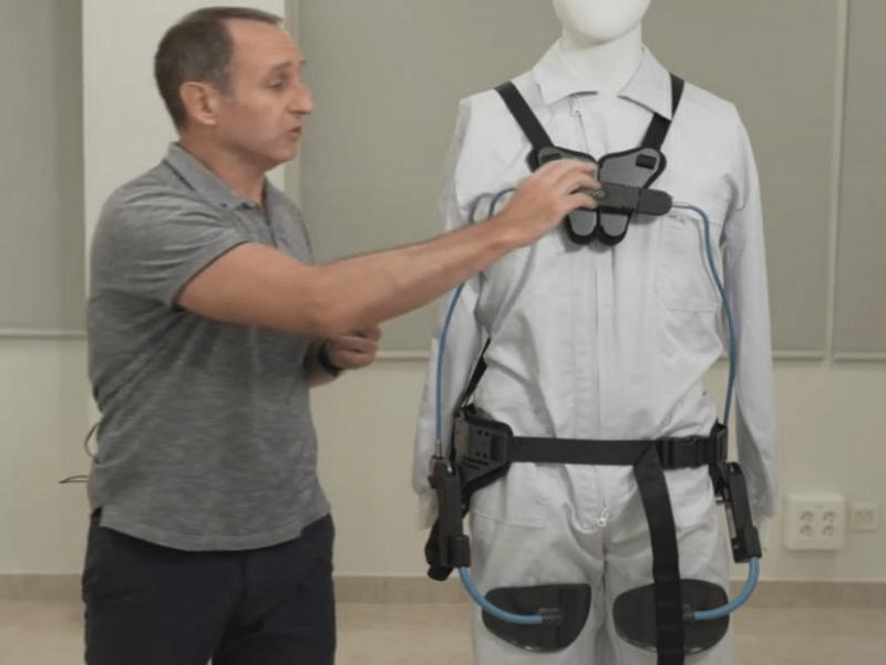 Publicación de un vídeo sobre exoesqueletos para el trabajo