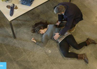 Laura, vendedora en una tienda, murió por una caída de altura