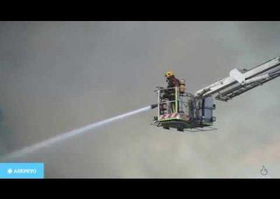 Prevención y extinción de incendios. Sensibilización