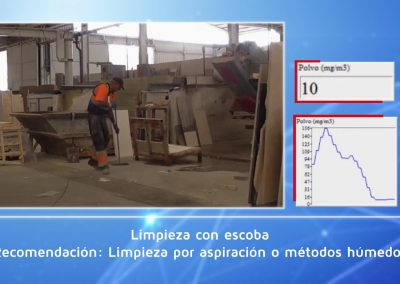 Sistema PIMEX. Trabajos en talleres de mármol